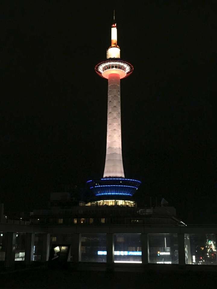 【18:57】京都タワー