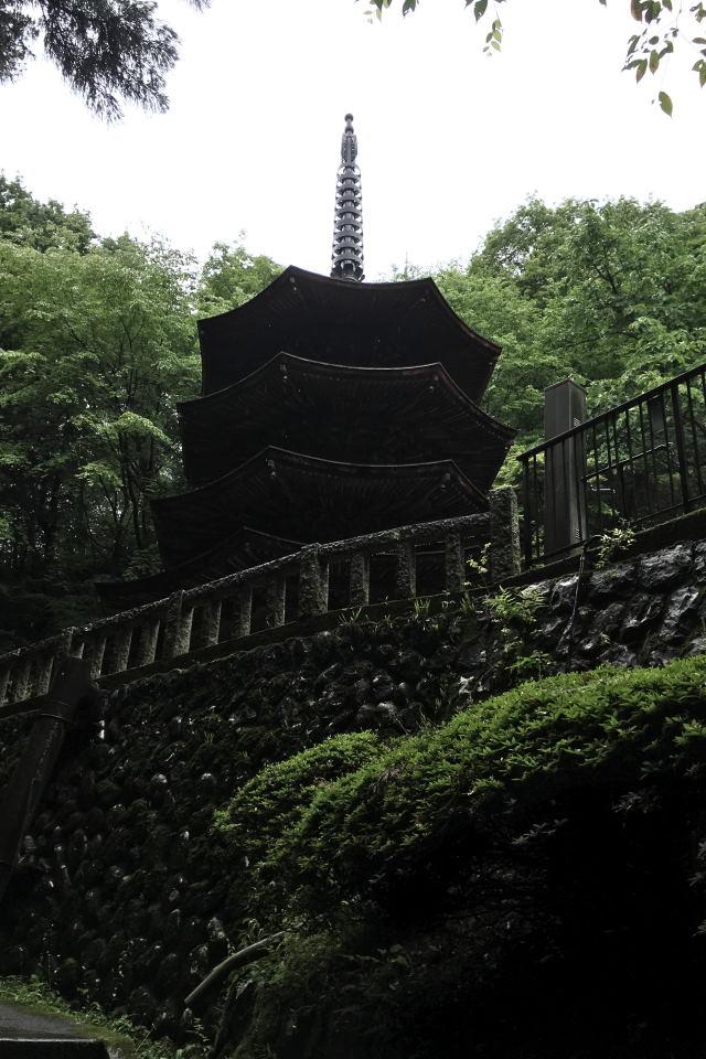 国宝の三重塔