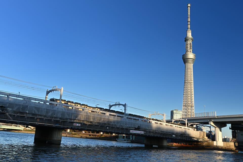 東武鉄道の鉄橋
