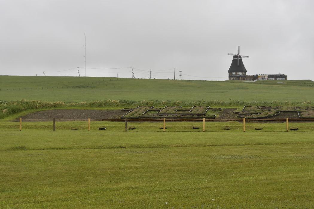 何故か風車