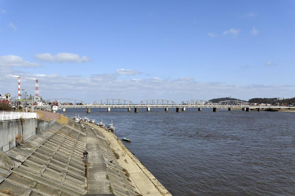 山陰線の鉄橋