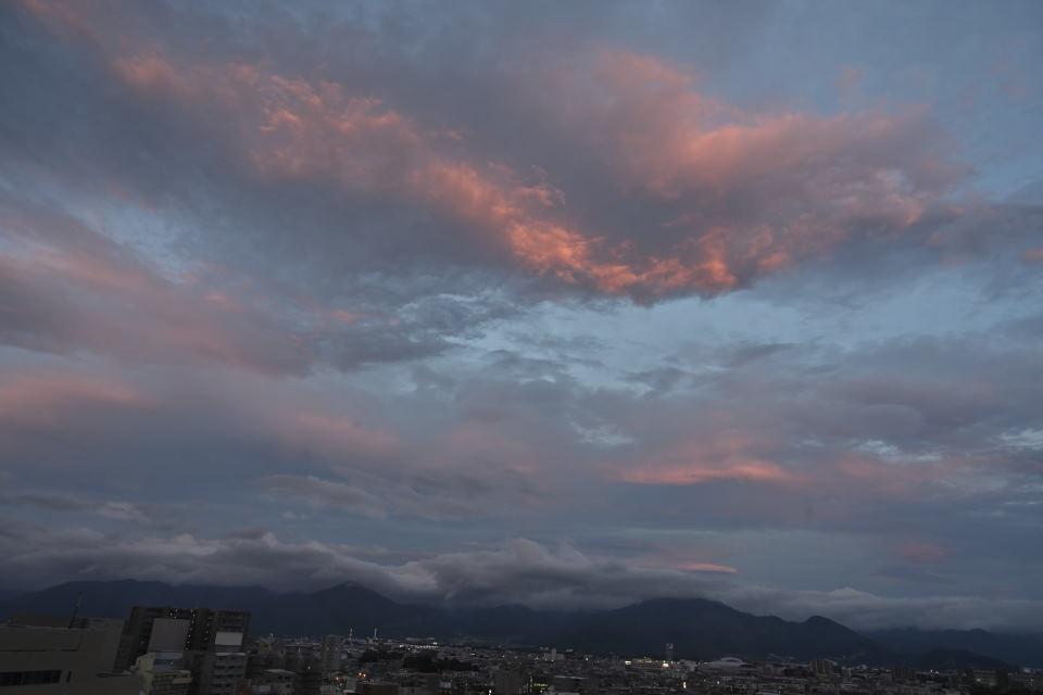 【19:18】夕焼け